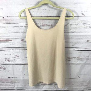 *3/$18*Chico's Nude Smoothing Shaper Tank Top